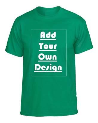 Your Own Allntrends Unisex T Shirt Customizable Make Design Custom T Shirt (XL, )