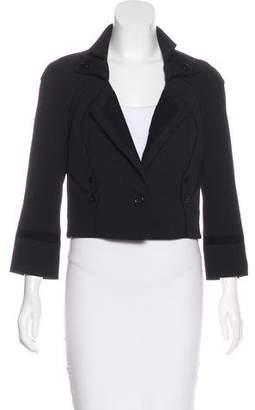 Zac Posen Z Spoke by Cropped Long Sleeve Jacket