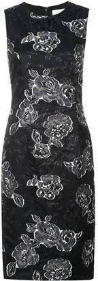 Prabal Gurung floral sleeveless dress