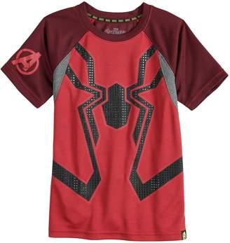Spiderman Boys 4-10 Marvel Hero Elite Series Avengers Infinity Wars Collection for Kohl's Mesh Active Tee