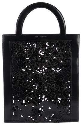 Dolce & Gabbana Cutout Leather Tote