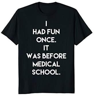 Funny Mens Doctor Medical School T-shirt med school gift tee