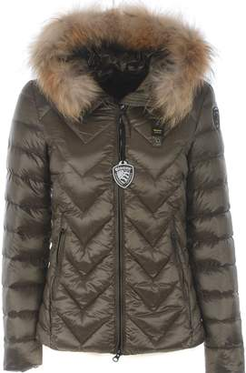 Blauer Logo Patch Padded Jacket