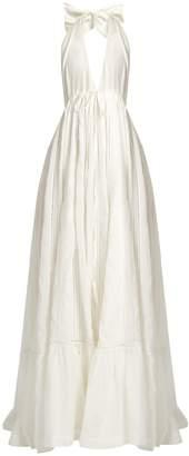 KALITA Rooftop Runway cotton and silk-blend maxi dress