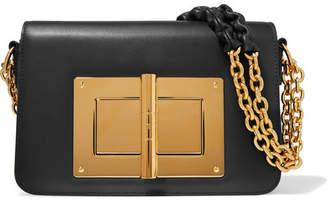 858d0c598 Tom Ford Natalia Large Leather Shoulder Bag - Black