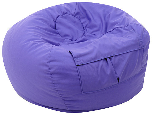 Super Round Beanbag Purple Youth