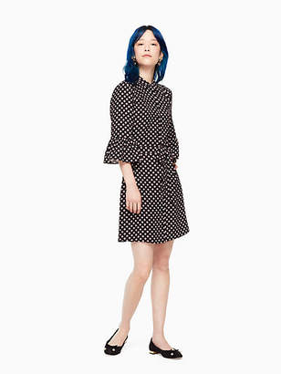 Kate Spade Diamond crepe shirtdress