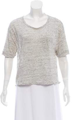 Rag & Bone Loose-Fit Short Sleeve Top