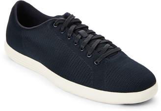 Cole Haan Navy Grand Crosscourt Knit Low-Top Sneakers