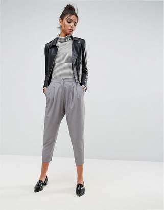 Asos DESIGN Tailored Drop Crotch Tapered Pant