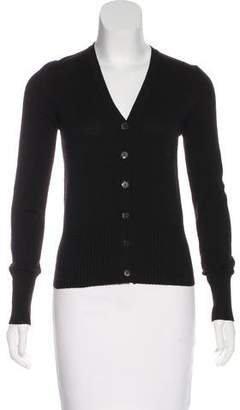 Max Mara Wool Button-Up Cardigan