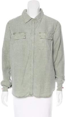 Splendid Long Sleeve Button-Up Top w/ Tags
