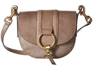 Frye Ilana Harness Small Saddle Tote Handbags