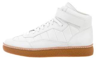 Alexander Wang Leather High-Top Sneakers w/ Tags