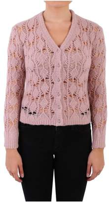 Blugirl Crochet Knit Cardigan