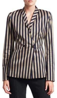 Jonathan Simkhai Structured Stripe Blazer