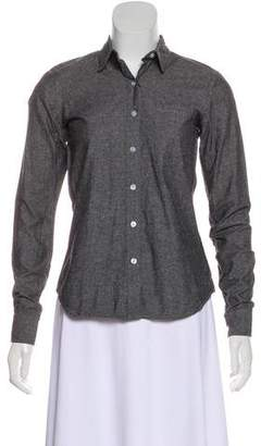 Steven Alan Long Sleeve Button-Up Shirt