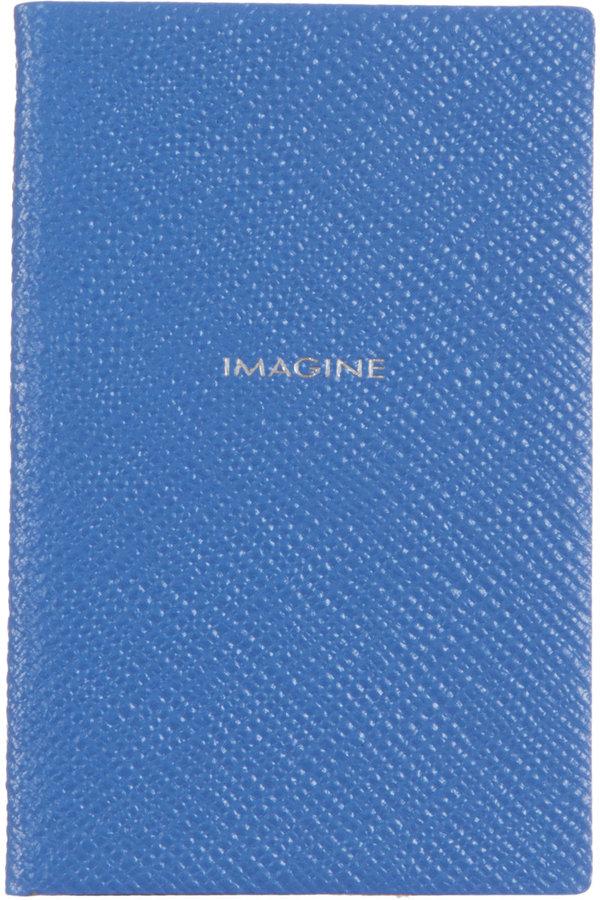 Smythson 'Imagine' Wafer Notebook