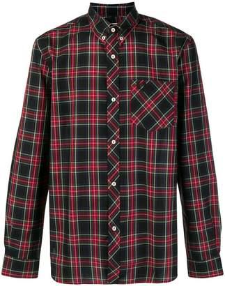 Fred Perry X Art Comes First x Art Comes First tartan shirt