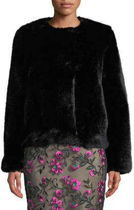 Milly Faux-Fur Jacket