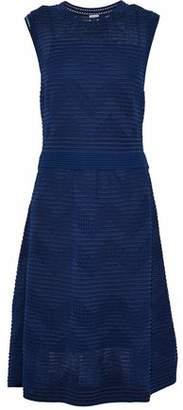 M Missoni Cloqué Stretch-Knit Midi Dress