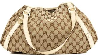 Gucci Pelham Beige Hobo Leather Handbag (4103009)