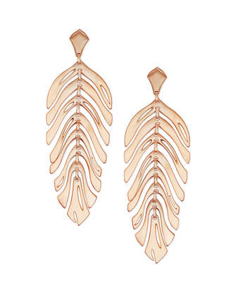 Kendra Scott Lotus Statement Earrings
