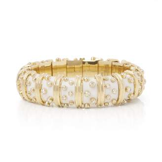 Tiffany & Co. Schlumberger White Yellow gold Bracelets