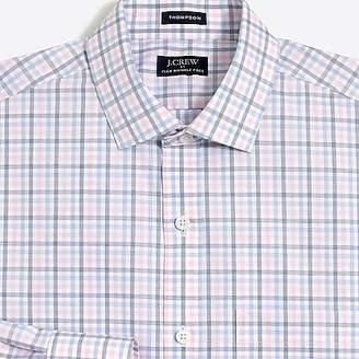 J.Crew Mercantile Multi-check flex wrinkle-free dress shirt