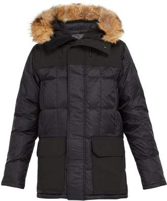 Canada Goose Callaghan Quilted Down Parka - Mens - Black