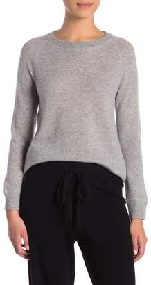 Magaschoni M BY Cashmere Shirttail Sweater (Petite)