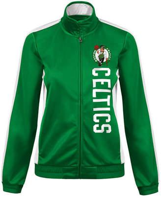 G-iii Sports Women's Boston Celtics Backfield Track Jacket