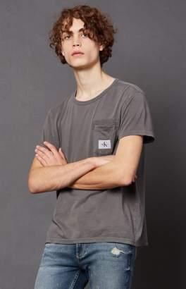 Calvin Klein Washed Pocket T-Shirt
