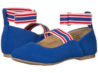 Janie and Jack Double Strap Flat (Toddler/Little Kid/Big Kid)