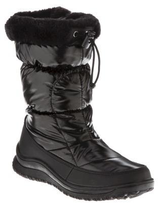 Merona Women's Nataly Snow Boots - Black