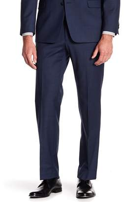 "Tommy Hilfiger Tyler Modern Fit TH Flex Performance Sharkskin Suit Separate Pant - 30-34"" Inseam"