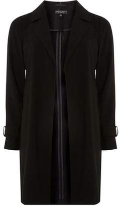 Dorothy Perkins Womens Black Trench Duster Coat