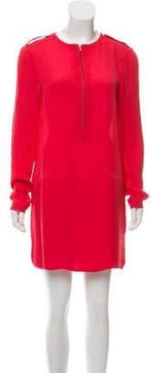 A.L.C. Long Sleeve Drop Waist Dress