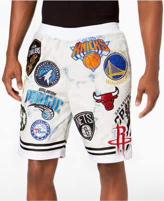Heritage American Men's Nba Patches Shorts