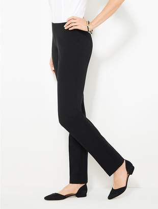 Talbots Refined Bi-Stretch Side-Zip Slim Leg - Curvy Fit
