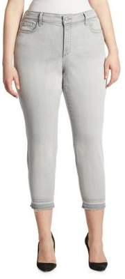 NYDJ NYDJ, Plus Size Plus Alina Cropped Pants