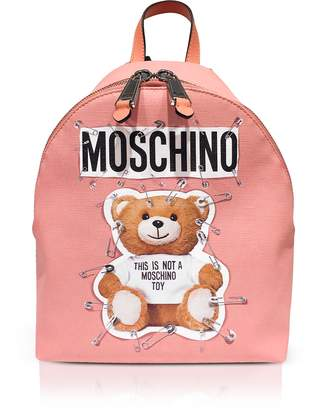 Moschino Teddy Bear Pink Backpack