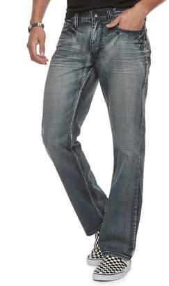 Men's Urban Pipeline Relaxed Straight-Leg Silver Haze Jeans