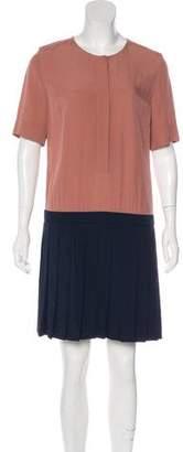 Victoria Beckham Victoria Short Sleeve Mini Dress w/ Tags