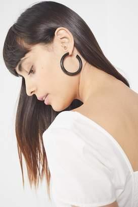 Soko Horn Hoop Earring