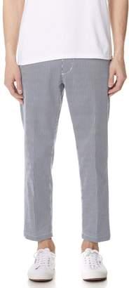 Obey Straggler Stripe Flooded Pants