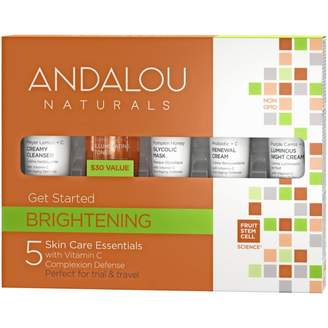 Andalou Naturals Brightening Get Started Kit 5 pack