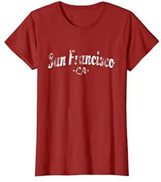 San Francisco T-Shirt - Vintage Style Gift Apparel