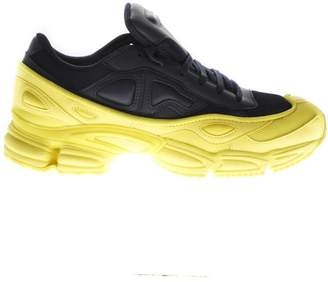Adidas By Raf Simons Rs Ozweego Sneakers In Yellow & Black Leather