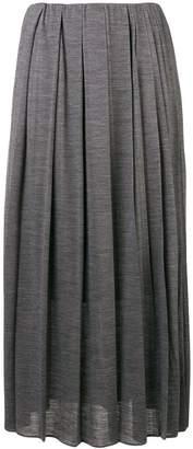 Fabiana Filippi midi pleated skirt